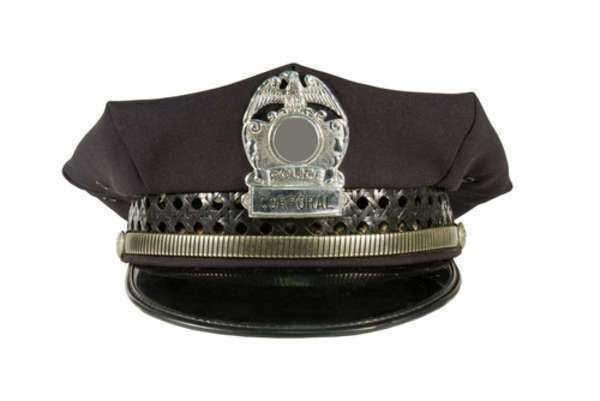 Police Officer's Badge At A Glance